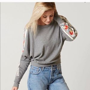 Free People Wall Flower Pullover